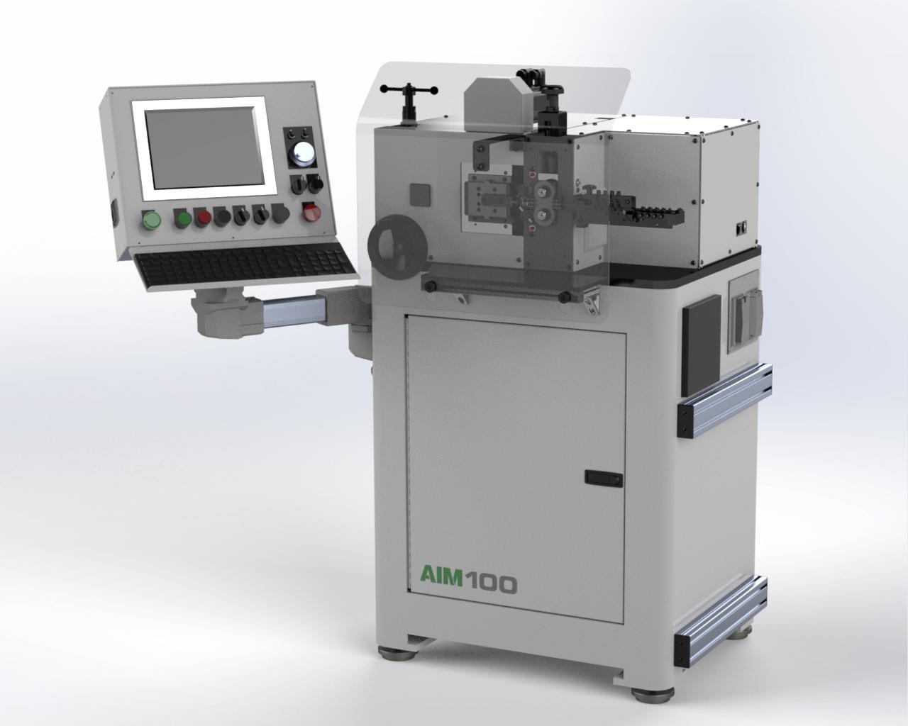 AIM 100 CNC Spring Coiler