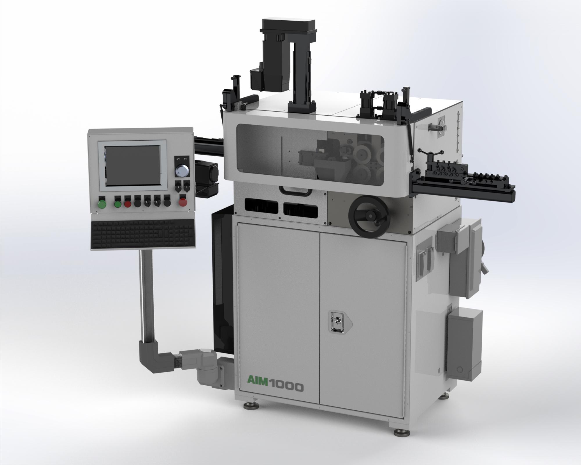 AIM 1000 CNC Spring Coiler