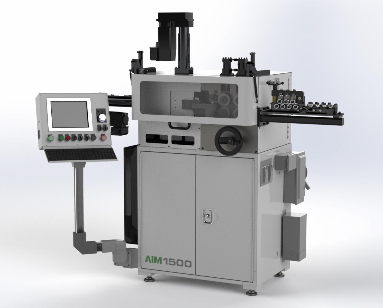 AIM 1500 CNC Spring Coiler