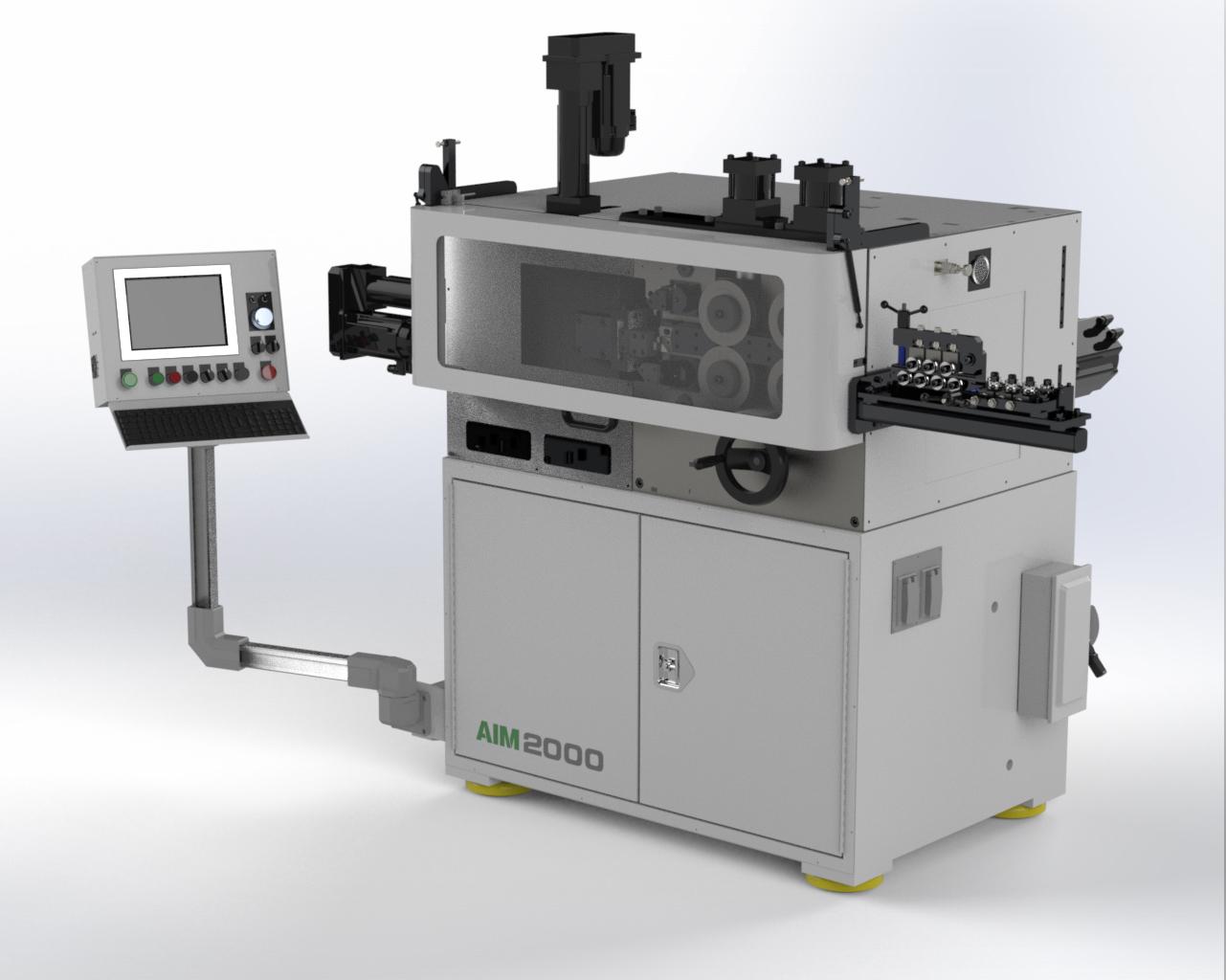 AIM 2000 CNC Spring Coiler
