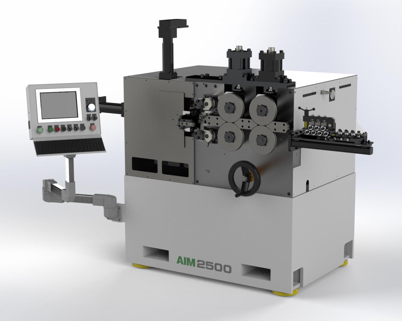 AIM 2500 CNC Spring Coiler