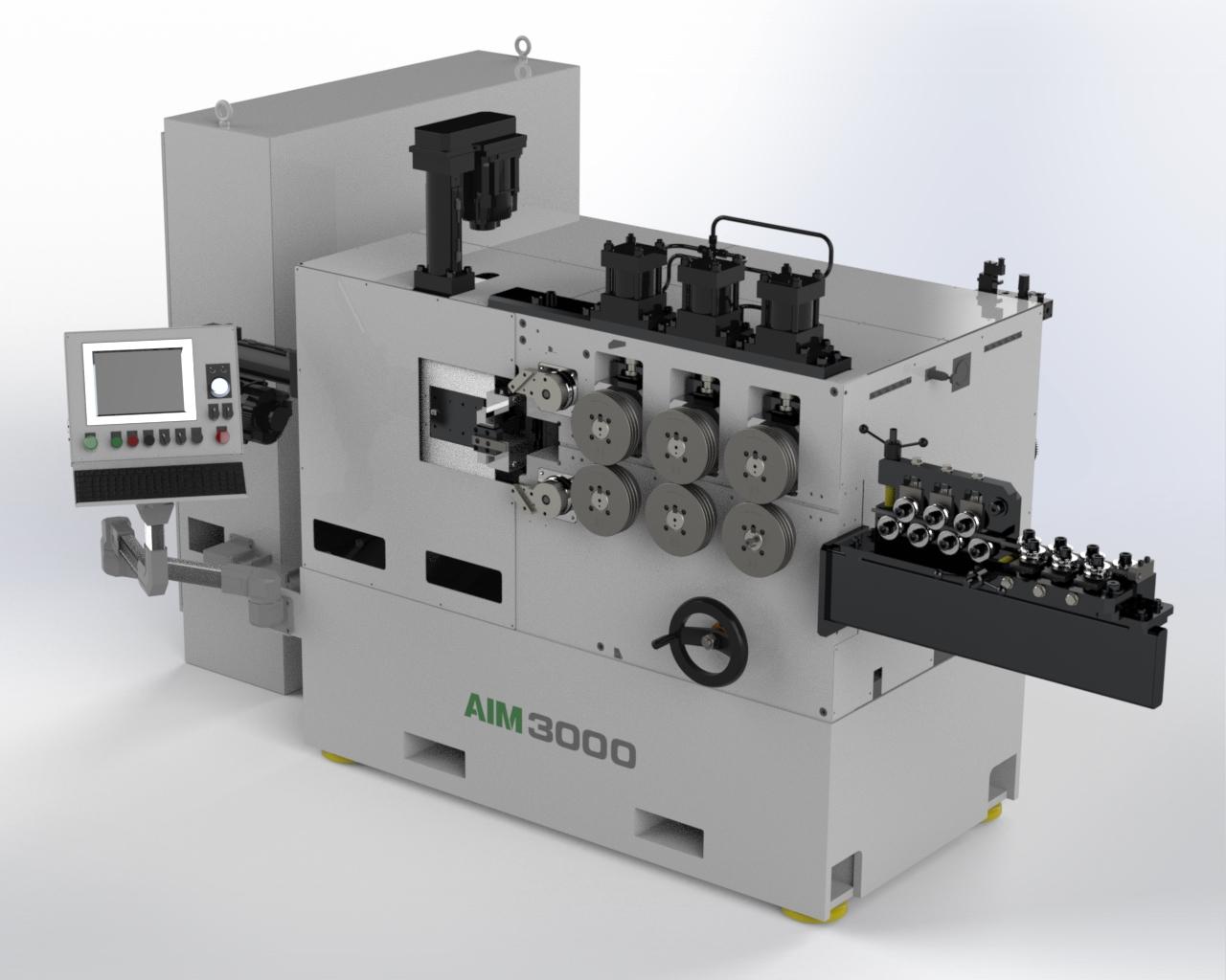 AIM 3000 CNC Spring Coiler