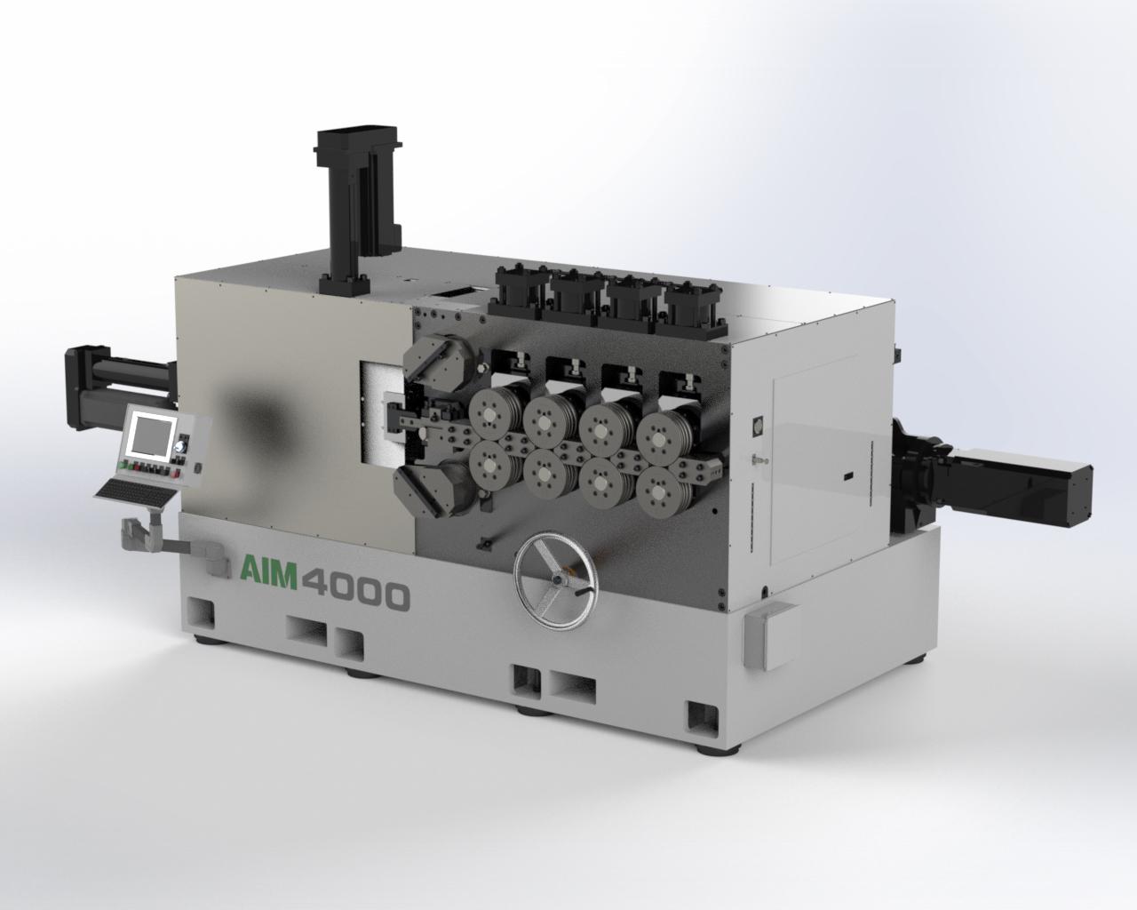AIM 4000 CNC Spring Coiler