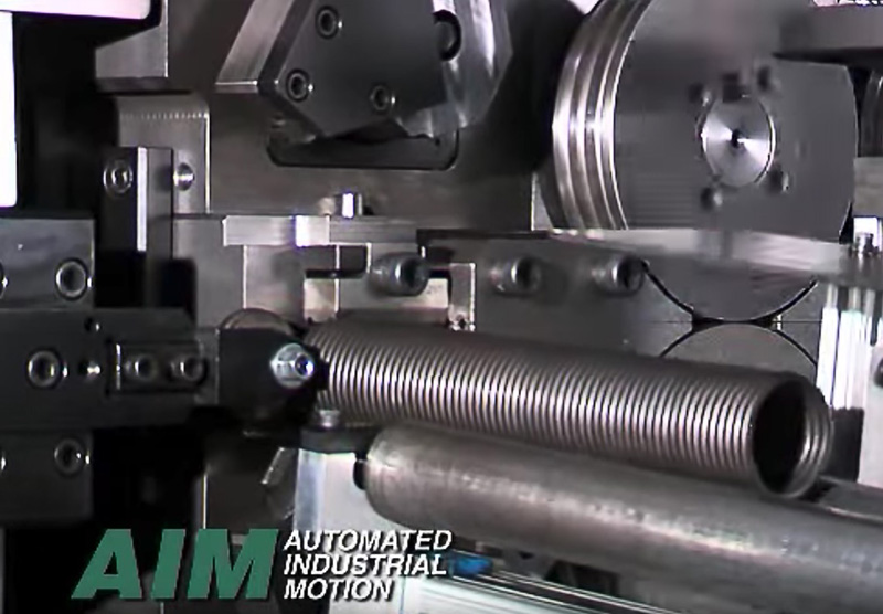 AIM 3000 Coiler - Configured for Garage Door Spring Production