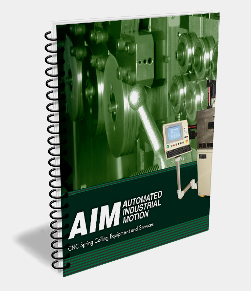 AIM - CNC Spring Coiler Brochure