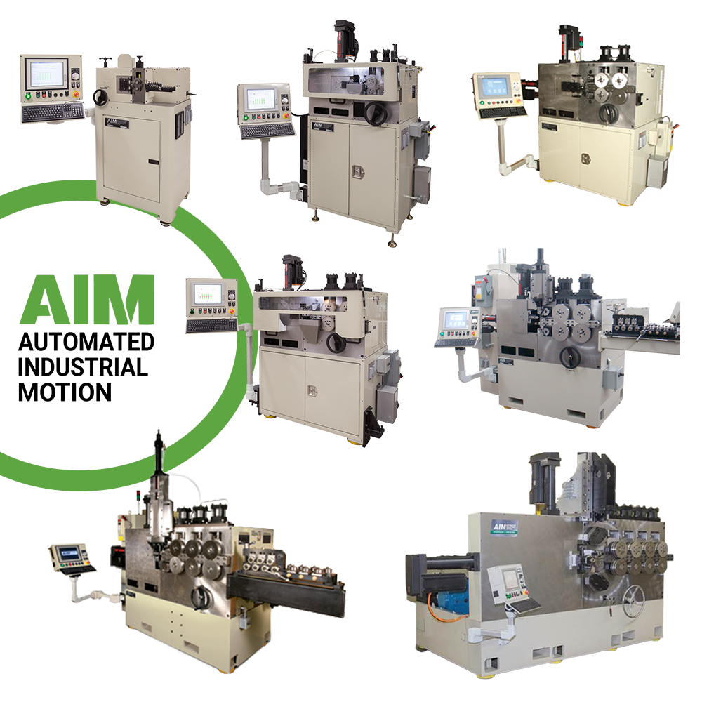 Automated Industrial Motion - Products - CNC Coilers