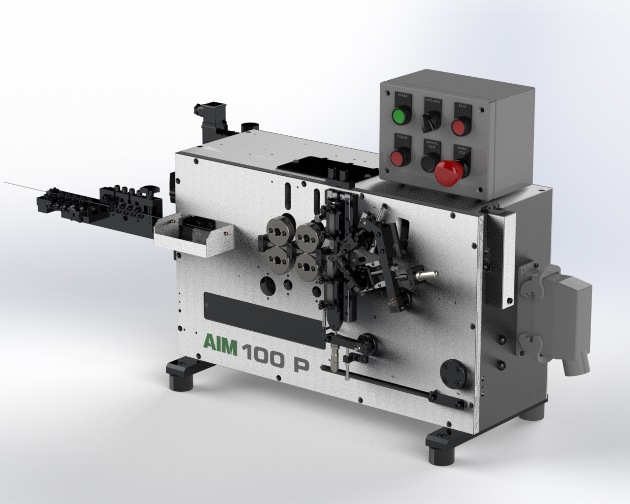 AIM 100 Pneumatic Spring Coiler - AIM 100-P